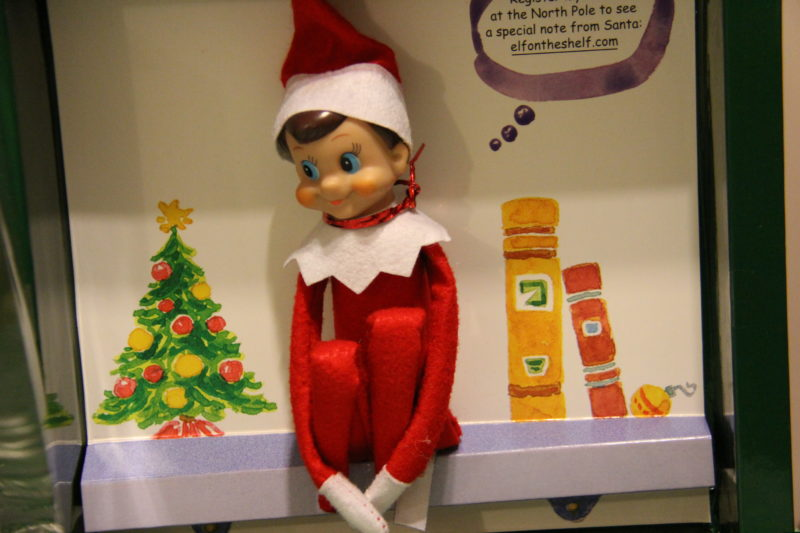 Behavior Modification, Santa and the Elf on the Shelf