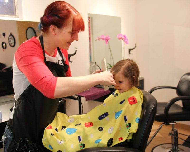 Zara's First Hair Cut